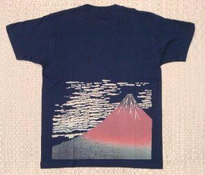 Tシャツ赤富士